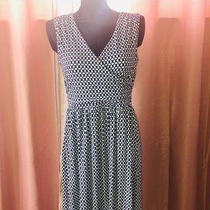 Lands End Maxi Sun Dress